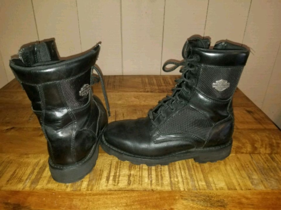 Photo Mens Harley-Davidson leather combat boots