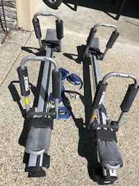 Thule kayak carriers 3800 km