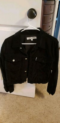 black button-up jacket Pearland, 77584
