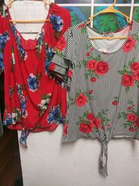 Sale 2 for 7$ Womens Flower Tops Winchester, 89121