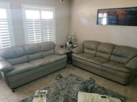 Gray leather couches  Scottsdale, 85250
