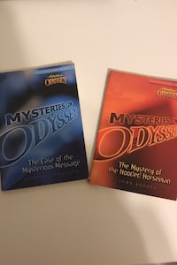 Mysteries in Odyssey books 1 and 2 Fairfax, 22032