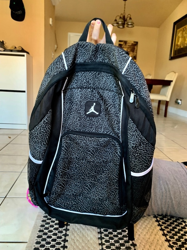 0bd911aa987fbe Used Nike Jordan backpack cement grey for sale in Winter Haven - letgo