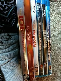 Blue ray dvds Mason, 45040