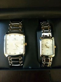 two silver analog watch with silver link bracelets Manassas, 20109