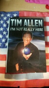 I'm Not Really Here book Tim Allen McMinnville, 97128