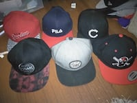 6 snapbacks mint condition 20$ea or all for 80$ Kelowna, V1Y 1S1