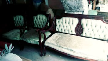 Older Vintage Chairs and Love Seat
