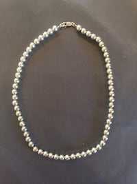 Silver Bead Necklace Woodbridge, 22192