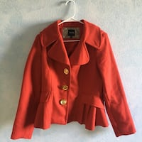 Red Pea Coat Torrance, 90504