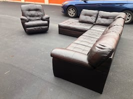 Sectional Couch Sofa and Recliner *FREE DELIVERY*