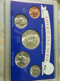 Americana Series Presidents Coin Collection