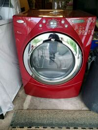 red front-load clothes dryer Madison Heights, 48071