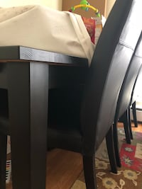 Table with 6 leather chairs Fairfax, 22030