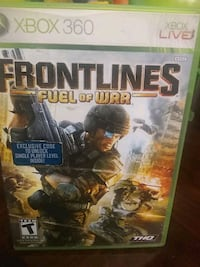 Console game front lines f u e l of war for Xbox 360