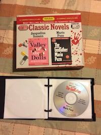 Media Publishing Valley of the Dolls and The Godfather audiobooks - 12 compact discs - all new condition! Hazleton, 18202