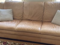3+1+1 leather sofa