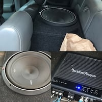 black and gray Pioneer subwoofer Sterling Heights, 48311