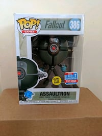Funko Pop Assaultron Toronto, M4V