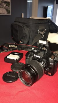 Canon Rebel XSi perfect condition, 18-55 lenses, micro sd 16Gb, bag, compact charger whit 2 bateries Vaughan, L4L 0E6