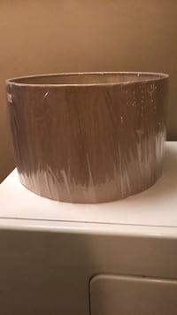 Brand New - $18 - Beige Lamp shade  (in packaging) 545 km