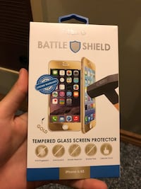 Tempered glass screen protector iPhone 6/6s London, N5Z 3S4