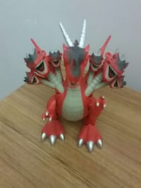7 headed dragon red gray and white doll Düzce, 81030