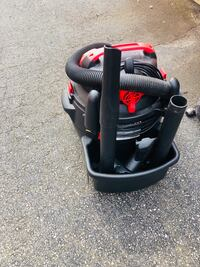 black and red canister vacuum cleaner Woodbridge, 22192