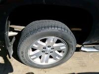 gray 5-spoke car wheel with tire set of 4 off 2008 Martinsburg, 25405