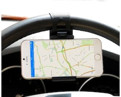 Car Mount, Costech Steering Wheel Stand GPS Rubber Band Holder