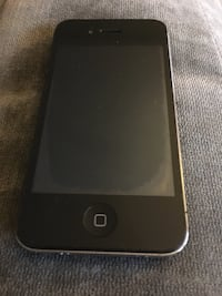 Space gray iphone 4
