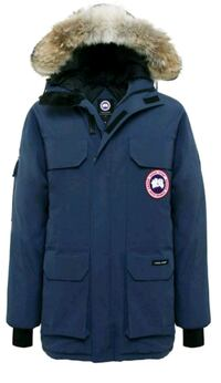 Canada Goose Expedition Men's Small Navy Authentic