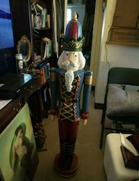 The Nutcracker hand-painted hand carved made of wood it's exceptional  Weehawken, 07086