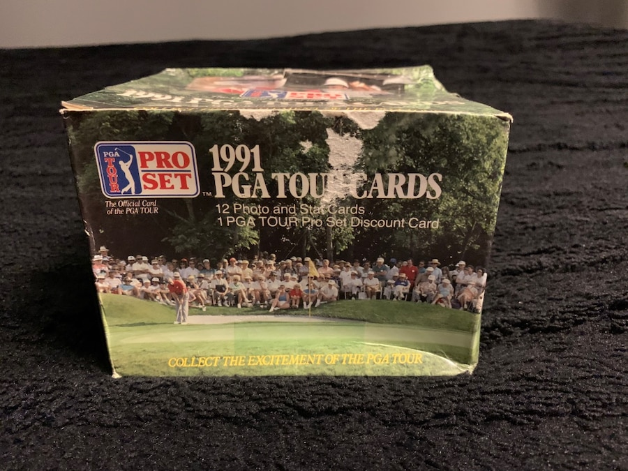 Photo 1991 PGA Tour Cards (401 Cards In The Box)