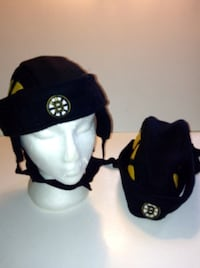 Boston Bruins NHL Helmet Hats Set of Two London