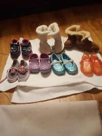 toddler's shoes lot