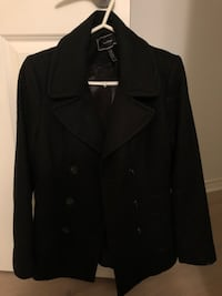 Le Chateau Black peacoat  Port Moody, V3H