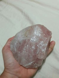 Rose Quatz Raw Crystal