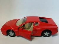 red coupe die-cast model Mississauga, L5M 5W8