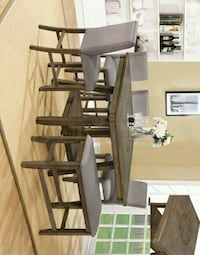 Manning Rustic Brown Counter Height Bench |   Houston, 77036