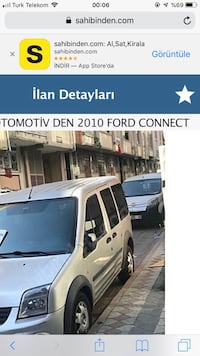 Ford - Transit Connect - 2010 Sultangazi, 34260