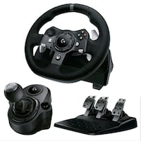 Logitech g920 racing set xbox one 500 obo Mississauga, L4Y 3B4