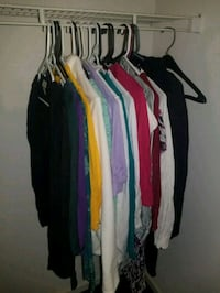 Lot of womens clothes. Mostly New York and Co