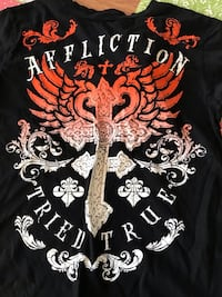 Brand New still have tags Boys Affliction shirt Newton, 50208