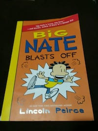 Big Nate Blasts Off book