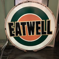 """""""EATWELL"""" diner sign Los Angeles, 90027"""