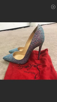 Christian Louboutin Dragonfly so Kate 120mm Size 8 Rosedale
