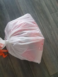 Garbage bag full of red Solo cups Dartmouth, B3A 0A8