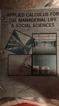 Applied Calculus For The Managerial Life & Social Sciences book