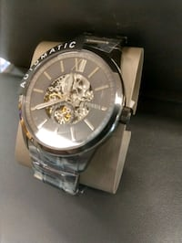 Automatic skeleton Fossil watch all gunmetal color Albuquerque, 87114